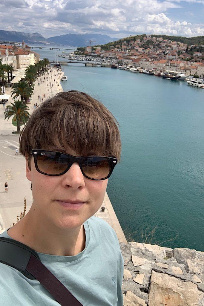 Blick von der Festung in Trogir, Kroatien